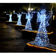 animated outdoor christmas decorations lighted angel outdoor christmas decorations buy lighted angel