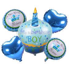 birthday boy 5pcs birthday boy girl helium foil balloons happy birthday