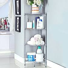 Corner Shelving Bathroom Storagemaniac 5 Tier Corner Storage Rack Shelf