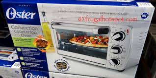 How To Use Oster Toaster Oven Costco Sale Oster Convection Countertop Oven 34 99 Frugal Hotspot