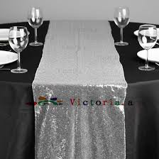 silver sequin table runner 10 pieces luxury silver sequin table runner wedding party table