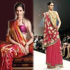 Mumtaz Style Saree Draping Style Drapers Traditional Styles Of Saree Draping
