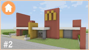minecraft tutorial how to build a mcdonald u0027s in minecraft 2