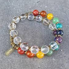 quartz crystal bracelet beads images Chakra genuine gemstones and crystal 27 bead mala chakra bracelet jpg