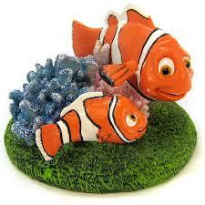 penn plax penn plax finding nemo marlin ornament aquarium