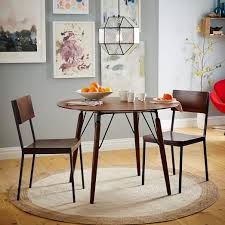 west elm round dining table graphica dining table round hazelnut size 42 dia x 30 h