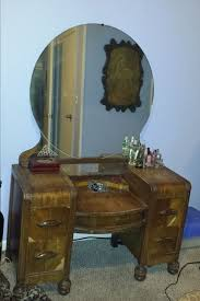 Wood Vanity Table Staining A Wooden 1942 Vanity Table Back To Hometalk