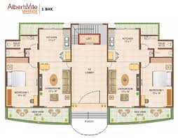 albertsville universe 1 bhk 2 bhk sea facing apartments and