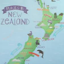 New Zealand Map New Zealand Map Map Of New Zealand With Cities And Towns Map Of