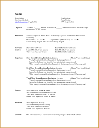 College Graduate Resume Samples by Simple Resume Examples For College Students