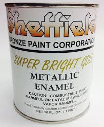 Exterior Metallic Paint - sheffield 4740 pt super brite gold enamel exterior metallic