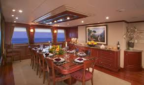 dining room image gallery luxury yacht gallery browser
