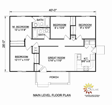 single level house plans single level floor plans best of modern house plans single story