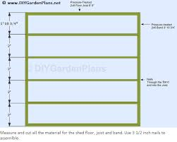 shed floor plans to build a shed floor for a 10x10 gable shed