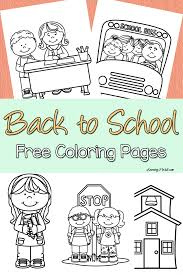 free printable back to coloring pages chuckbutt com
