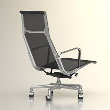 High Quality Office Chairs 3d Eames Aluminium Office Chair High Quality 3d Models