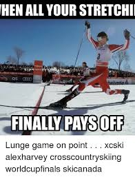 Skiing Meme - rule 1 skiers are tough nordic skiers choose a life of uphill