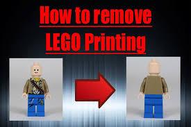 remove lego printing