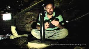 diy home foundation repair floor jack in a crawl space youtube