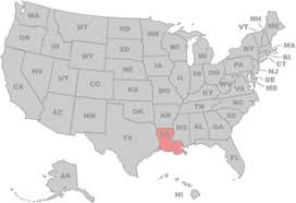 louisiana map in usa louisiana maps and data myonlinemapscom la maps new iberia