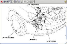 2003 honda accord v6 timing belt replacement 2003 honda accord drive belt noises problem 2003 honda accord 4