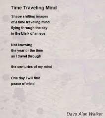 Time traveling mind poem by dave alan walker poem hunter