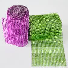 mesh ribbon table decorations 24row 5yards wedding mesh party home table decoration wrap