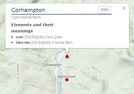 old english place names meon valley and its saxon heritage