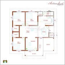 single floor 4 bedroom house plans house plan architecture kerala 3 bhk single floor kerala house