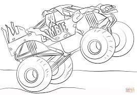download coloring pages monster truck coloring monster