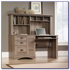 Oak Computer Desk With Hutch by Solid Oak Corner Computer Desk With Hutch Desk Home Design