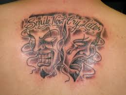 smile now cry later st