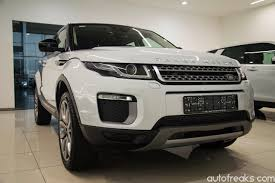 range rover evoque drawing 2016 range rover evoque facelift launched priced from rm430 000