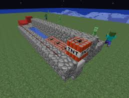 Capture The Flag Minecraft Obliterate Your Minecraft Enemies How To Build A Tnt Cannon