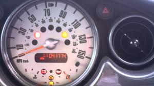 mini cooper warning lights meanings reset tyre pressure mini tp button youtube