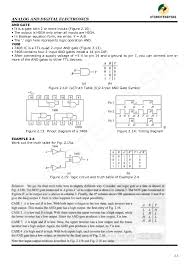 What Is A Truth Table Vtu 3rd Sem Cse Analog And Digital Electronics Notes 10cs32