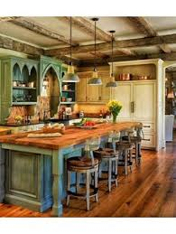 country kitchen islands with seating 40 rustic kitchen designs to bring country island bar