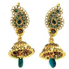 gold earrings jhumka design gold jhumka design buy gold jhumka design online at best prices
