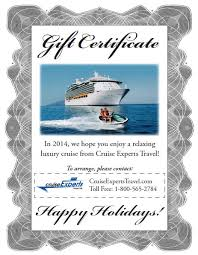 travel gift certificates last minute gift ideas for the traveler alaska cruise