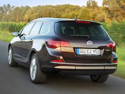 opel astra trunk astra wagon j facelift astra opel database carlook