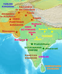 World Map Of India by Indo Parthian Jpg