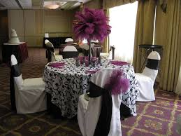 purple wedding centerpieces cheap purple stock centerpieces