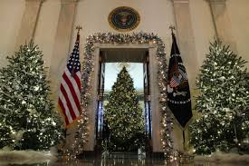 christmas tree house the white house just unveiled its christmas decorations