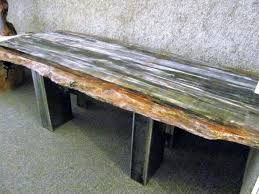 petrified wood dining table petrified wood table contemporary coffee table petrified wood