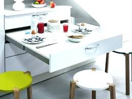 table de cuisine pratique table de cuisine escamotable table cuisine escamotable table