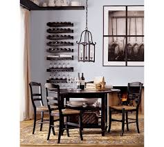 Pottery Barn Dining Room Classic Dining Room With Expandable Shayne Drop Leaf Kitchen Table