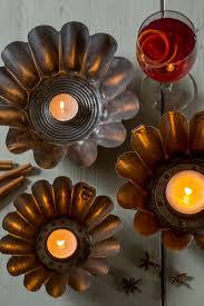 make candle holders from vintage kitchenalia u2014 modern gardens magazine