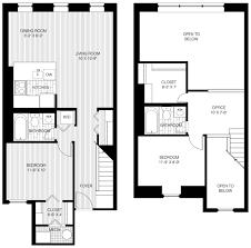 bi level home plans floor plans of trinity row in philadelphia pa