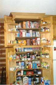 Spice Rack Plans Amazing Tall Pantry Cabinet Plans With Door Mount Spice Rack