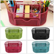 Desk Tidy Set Mesh Desk Tidy Office Supplies U0026 Stationery Ebay